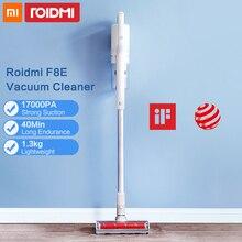 Xiaomi Roidmi F8E כף יד שואב אבק אלחוטי עבור בית אבק אספן ציקלון Aspirador נמוך רעש רב תכליתי מברשת
