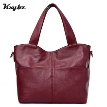 KXYBZ Fashion Band Leather Women Messenger Bag Designer High Quality Vintage Female Handbag Women Totebags Bolsas Sac K2035