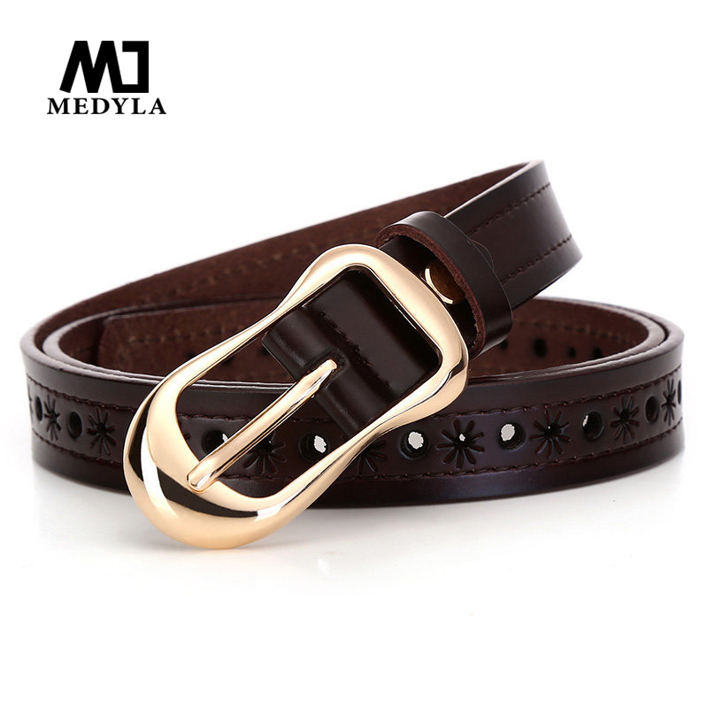 MEDYLA new Women's strap genuine leathers