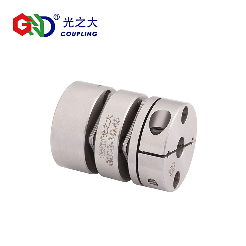 GLCG Stainless Steel Double Diaphragm Clamp Series shaft couplings GND BAND D19-56mm, L27-64mm gig stainless steel parallel wire series shaft couplings d63 l71 d63 l90