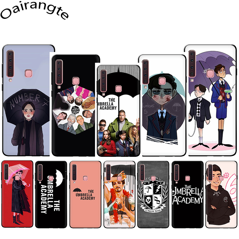 New TV The Umbrella Academy Soft Phone Cover Case for Samsung Galaxy A5 A6 A7 A8 A9 A10S A20S A30S A40S A50S A60 A70 J6