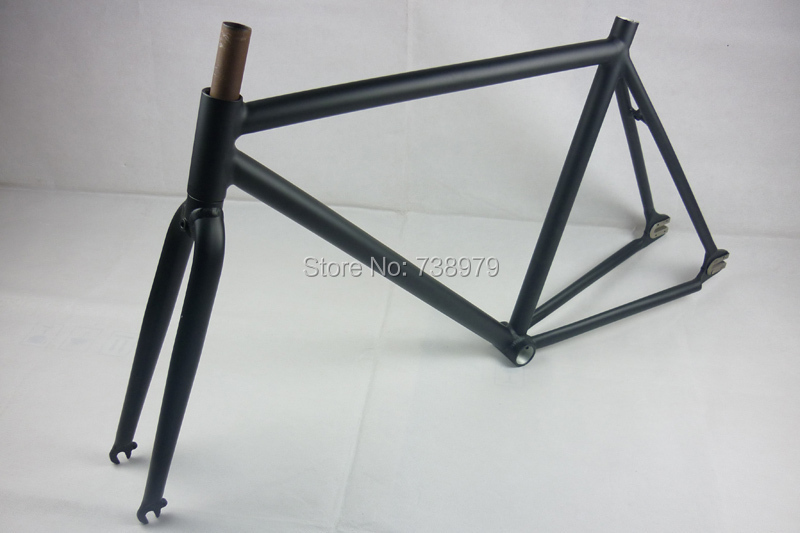 52cm super light cycling track bike frame frameset road racing bicycle used alloy aluminum fixie fixed