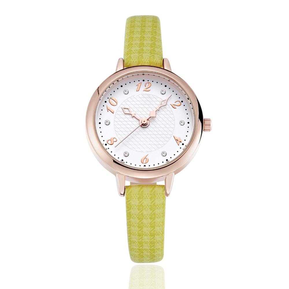 2018 Watches Fashion Casual Sport Quartz Watch Chronograp Clock woMan Leather Business Wrist watch Relogio Masculino