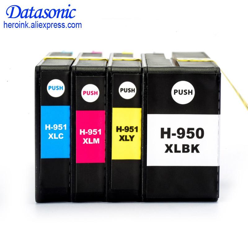 12 pcs para hp 950 xl 951 xl cartucho de tinta cheio compativel para hp officejet