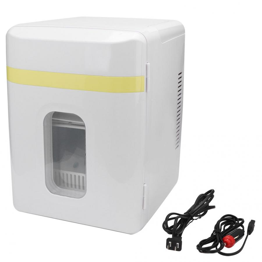 10L Mini Car Single Door Refrigerator Household Car Freezer Electric Cooler Warmer Car Accessories Car Refrigerator(China)