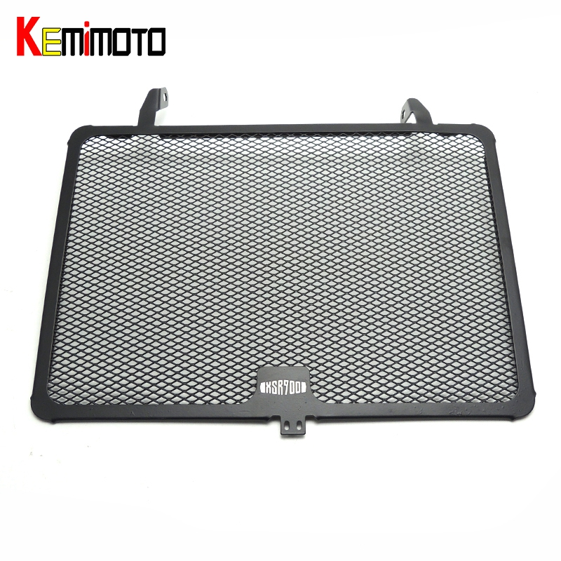 KEMiMOTO Aluminum Radiator Guard Cover Grille For YAMAHA XSR900 Oil Cooler Protector 2014 2015 2016 motorcycle radiator grille grill guard cover protector golden for kawasaki zx6r 2009 2010 2011 2012 2013 2014 2015
