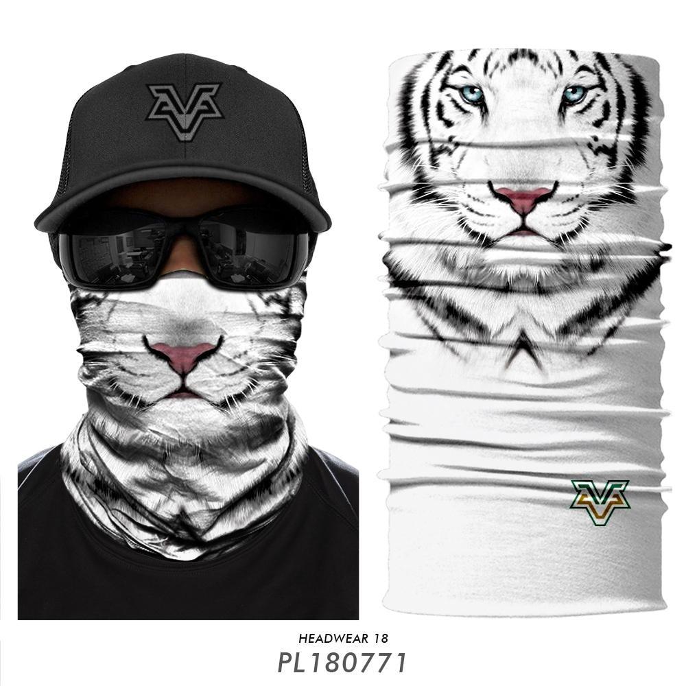 100% Wahr Neue Ankunft 3d Nahtlose Bandana Tiger Shark Zebra Gesicht Maske Tier Braga Cuello Uv Protecion Cosplay Winddicht Stirnband Ski Maske