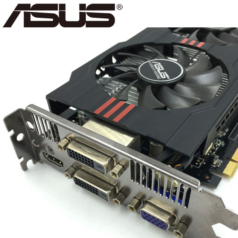 ASUS Original Graphics Card GTX 750 Ti With 2GB 128Bit GDDR5 Video Cards 5