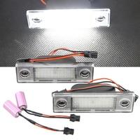 2Pcs 18SMD No Error LED Number License Plate Light Lamp OEM Direct Fit For Chevrolet Cruze