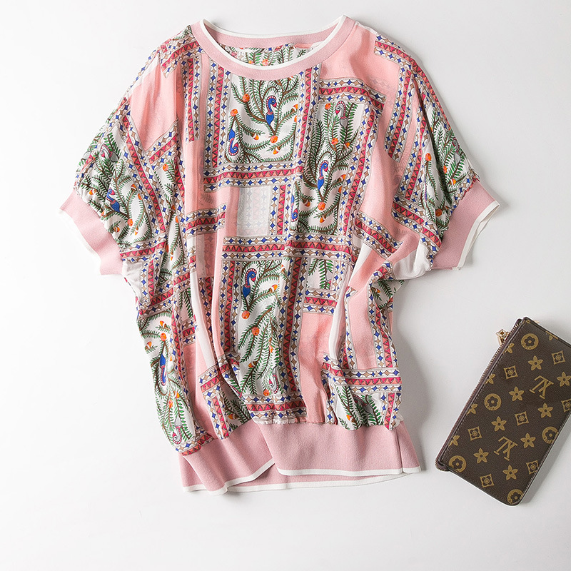 The new spring and summer 2019 women s clothing collar even rotator cuff small snake printed
