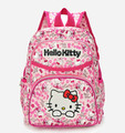 Hello Kitty Mochila Para Niños Bolsas de Kindergarten Muchachas de la Alta Calidad de Nylon Para Niños Moda Mini Oídos Arco Mochila