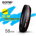 ZOMEI 58 MM 0.45X Wide Angle Filter Lens Multi-Coated AGC Optical Glass MC AF Wide Converter for Digital SLR Camera Lens