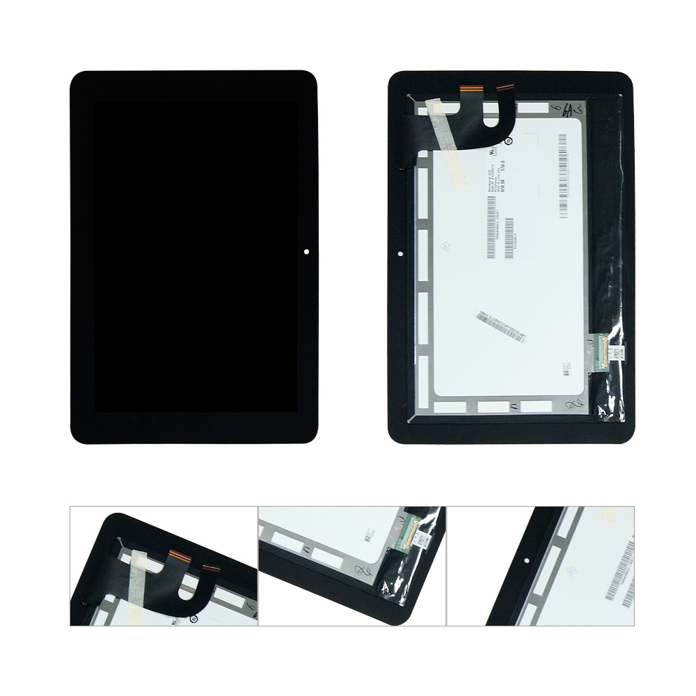 For ASUS C100P C100PA CHROMEBOOK FLIP LCD Display Touch Screen Digitizer Assembly Replacement for samsung chromebook xe550c22 lcd screen ltn121at11 801 display laptop screen replacement