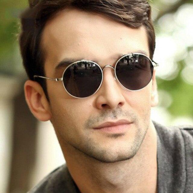 2017 Latest Fashion Retro Vintage Round Sunglasses Men