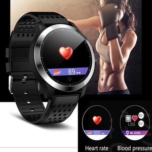 Image 3 - ЭКГ PPG смарт браслет артериальное давление пульсометр IP67 водонепроницаемые Смарт часы Шагомер трекер сна фитнес трекер спортивный браслет