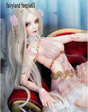 Big Resin 1/3 BJD/SD Dolls Handmade Fairyland FeePle65 BJD/SD Doll Resin Kit Joint Doll Cospaly Toys Dolls For Girls Best Gifts