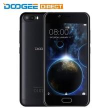 На Складе DOOGEE Стрелять 2 5.0 дюймов Android 7.0 MTK6580 Quad Core 1 ГБ + 8 ГБ 3 Г Смартфон 5.0MP Две Камеры Заднего Отпечатков Пальцев датчик