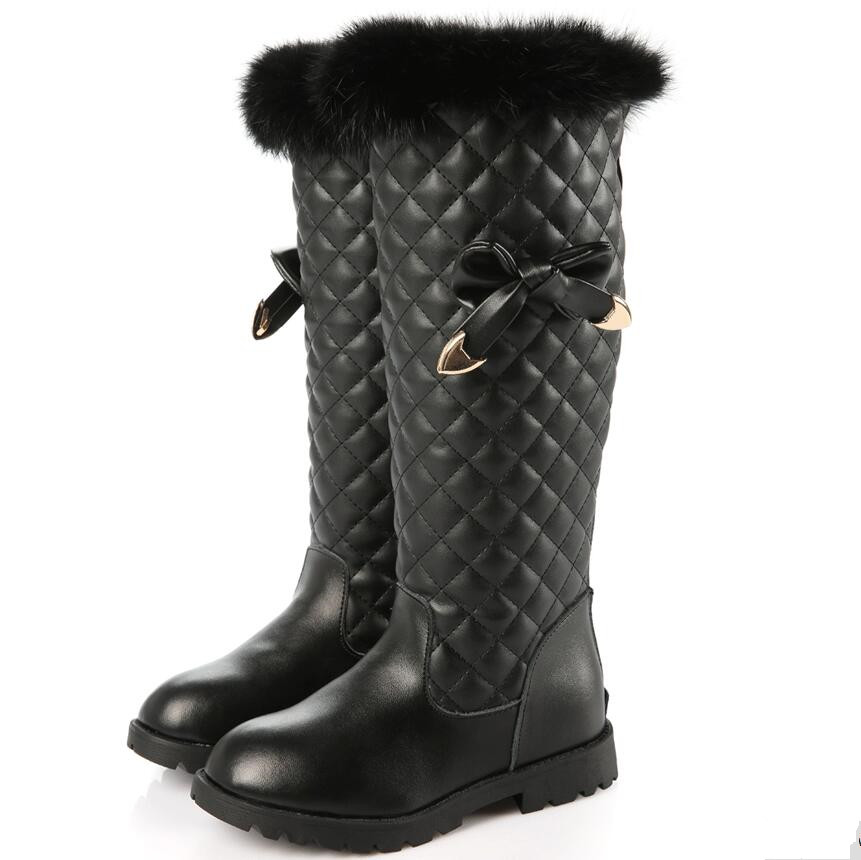 2018 Winter new Genuine Leather children Baby Boots Fashion girls boots Ankle Strap High top Boots super warm Kids Shoes babyfeet 2017 winter fashion warm plush high top genuine cow leather children ankle girls snow boots kids boys shoes sneakers
