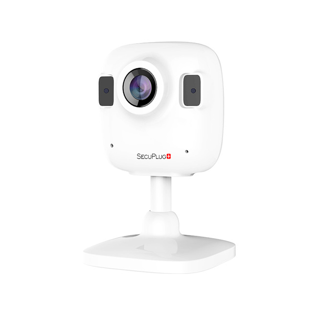 SecuPlug+ 960P HD 1.3MP Home Mini WIFI Network Surveillance Security CCTV Camera Night Vision Wireless IR IP Video Camera ip camera onvif hd 960p wireless wifi network home surveillance video security camera cctv h 264 ir night vision ip cam sd slot