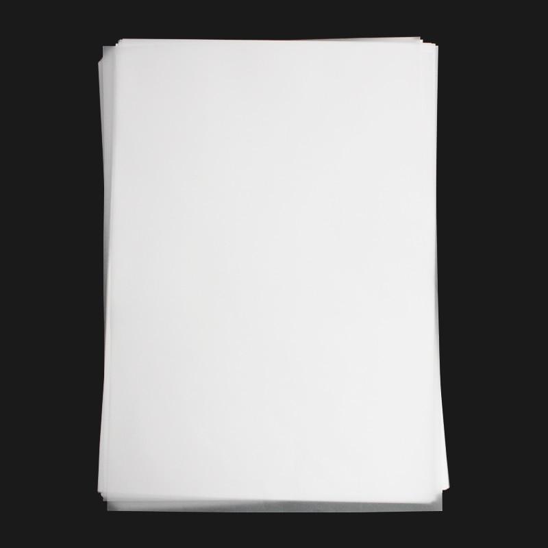 100 folhas a4 de alta qualidade translucido papel de rastreamento caligrafia copia papel para desenho esboco