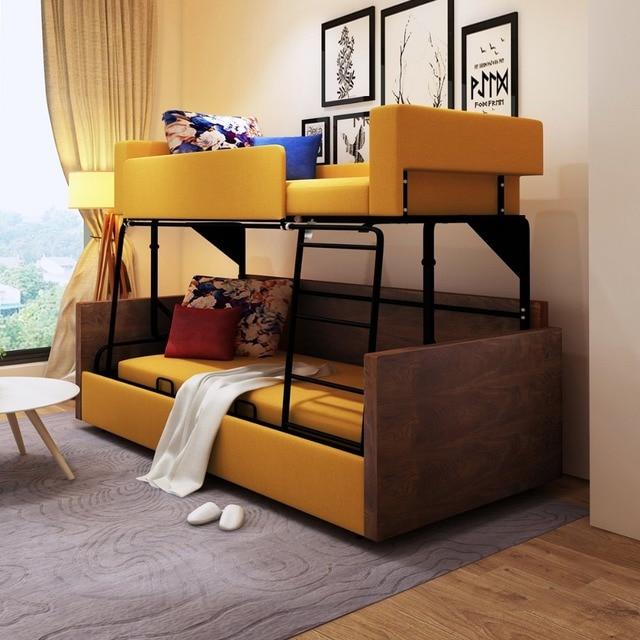 рама Dymasty функциональный диван кровать мода двухъярусная кровать