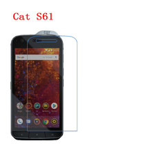 (2 팩) Cat S61,60,50,30,31,41,40,48C,32,52,42,B15Q,B15 탄소 섬유 9H Plexiglass Screen Protector(China)