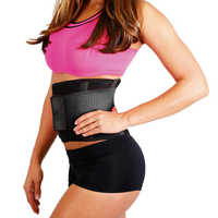 Hot Shaper Orthopedic Back Brace for GYM Trainer Waist Support Belt Ladies Waist Trimmer Weightlifting Weight Loss Belt