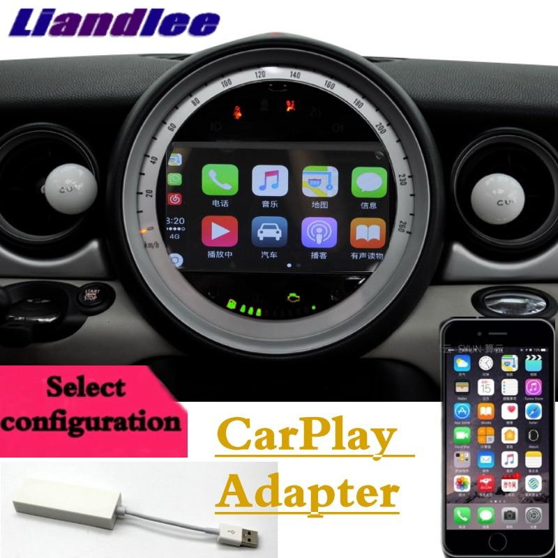 Liandlee Car Multimedia Player NAVI For Mini Countryman R60 2010~2017 CarPlay Android No DVD player Car Radio GPS Map Navigation car window curtains legal