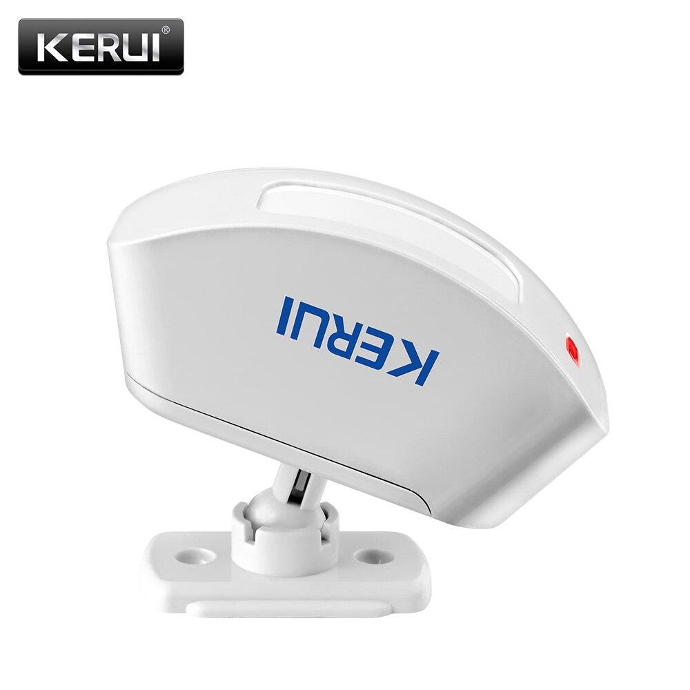 KERUI P817 Rivelatore Infrarosso Senza Fili del Sensore Della Tenda Pir Sistema di Allarme Antifurto Rilevatore di vestito per tutti KERUI allarme