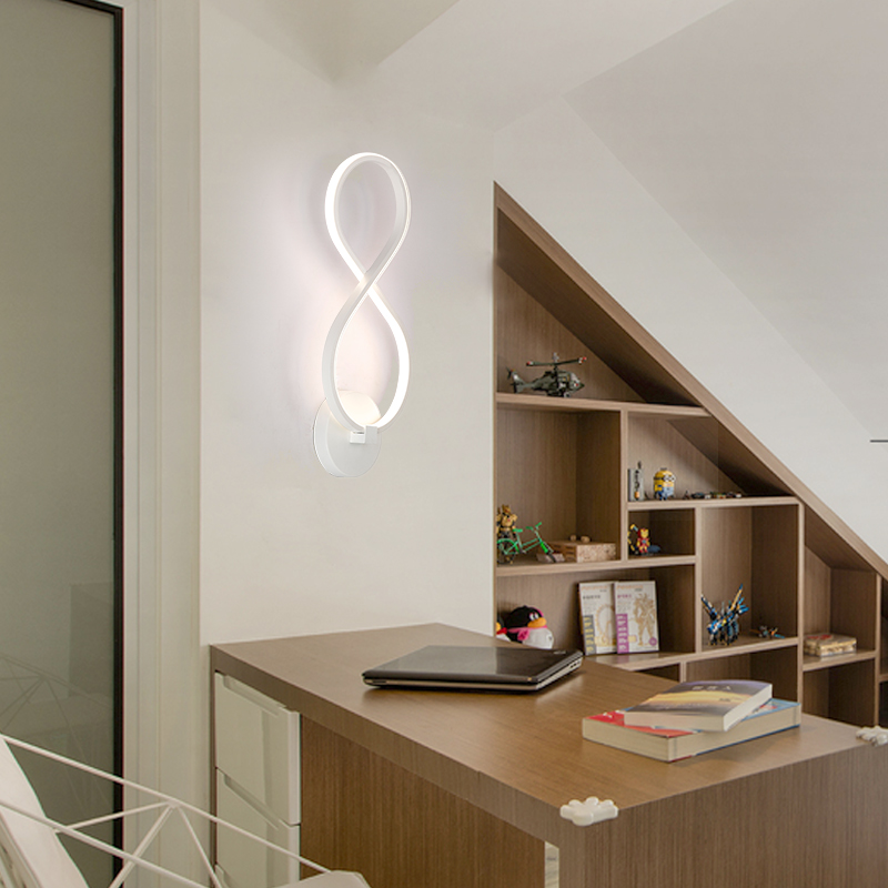 2017 Top Fashion Quadri Moderni Abajur Modern Led Wall Lamps For Bath Room Lights The Lamp Interior Lighting Ac85-265v Sconce