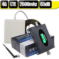 Lintratek LCD Display 4g LTE Repeater LTE 2600 Band 7 Mobile Phone Signal Booster Cellphone Cellular