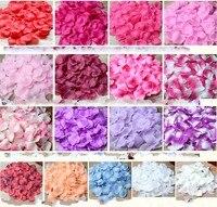 5000 шт/партия 5*5 см шелковые лепестки роз для свадебного украшения, романтические искусственные лепестки роз Свадебные цветы розы