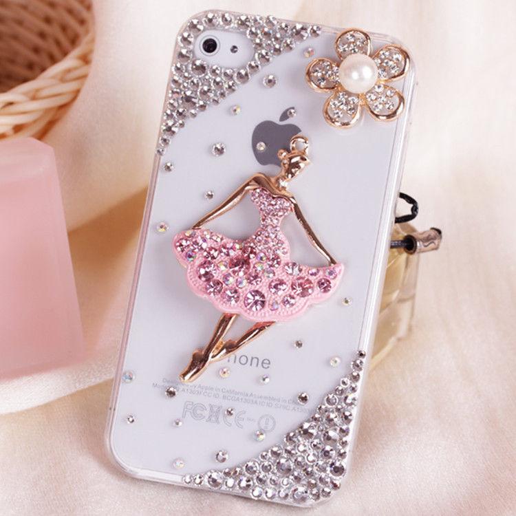 Pentru telefonul mobil cristale scânteietoare Strass Bling Lovely - Accesorii și piese pentru telefoane mobile