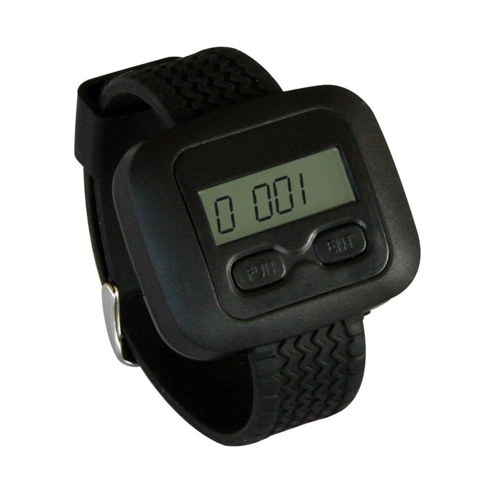 SINGCALL Беспроводная система звонка, вибрирующие ресторанные пейджеры, 10 шт пуговицы кофейного цвета и один наручные часы для официанта