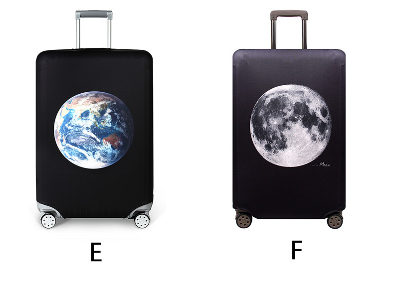 Thicker Travel Luggage Protective Cover Suitcase Case Travel Accessories Elastic Luggage Dust Cover Apply to 18''-32'' Suitcase 8