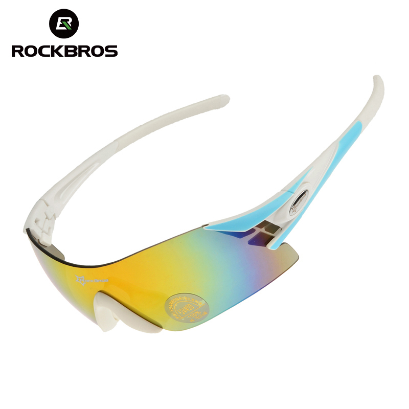 Prix pour Rockbros vélo vélo lunettes de vélo lunettes de soleil tr90 lunettes lunettes avec polarisées/coloré/nuit-vision 3 lentilles 5 couleurs