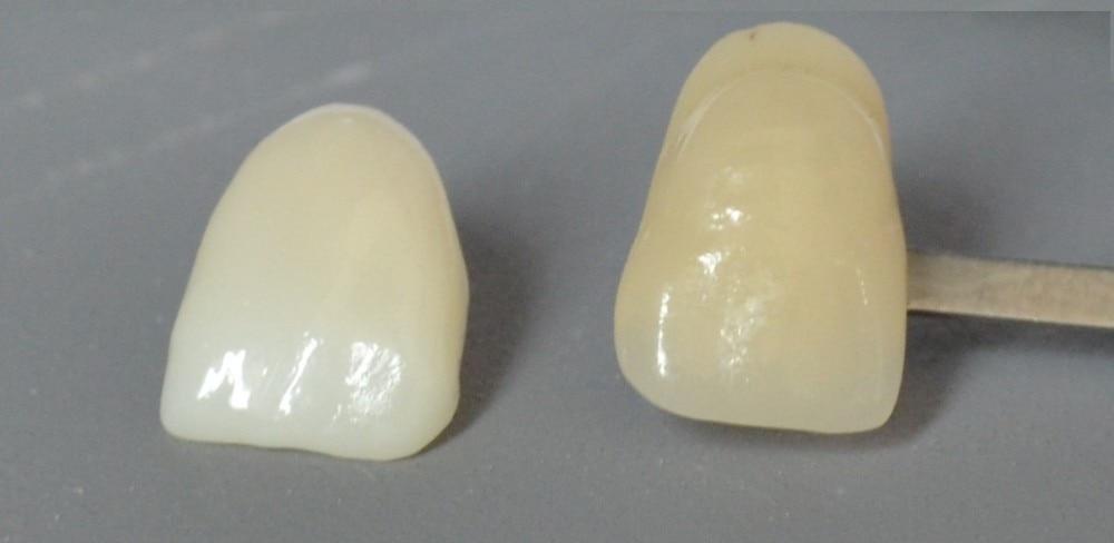 6 krāsu slāņu zobu priekšējais cirkonijs Zirkon Zahn CAD CAM - Mutes higiēna - Foto 4
