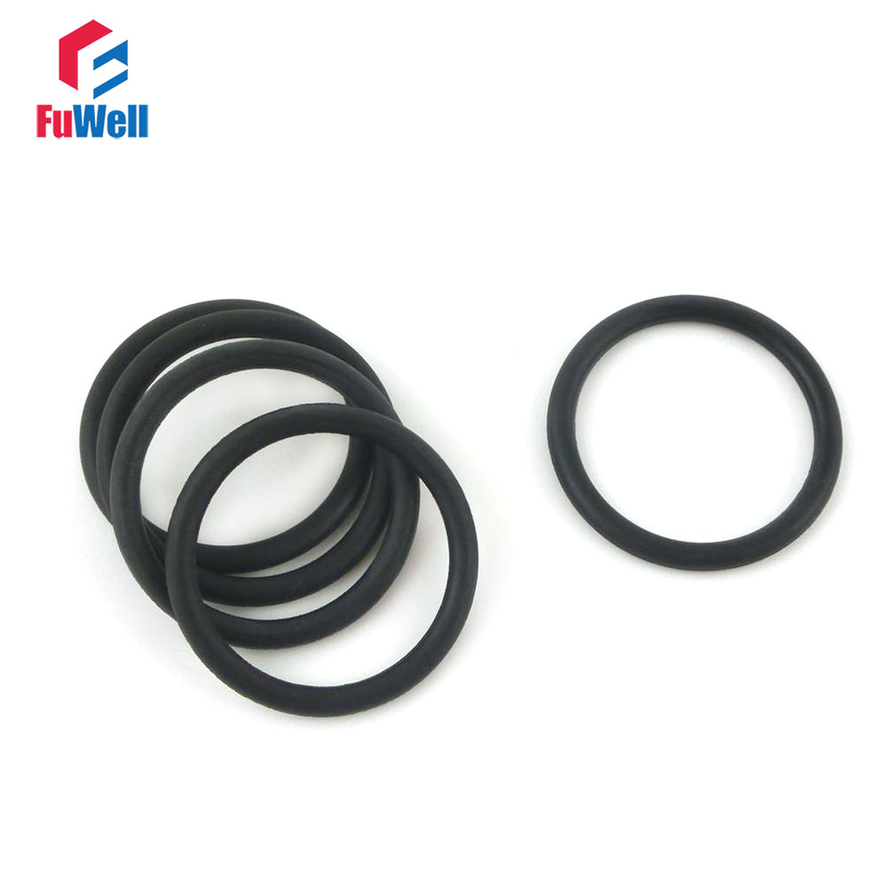 20pcs 3.5mm Thickness NBR O Ring Seal 105/110/115/120/125/130/135/140/145/150/155mm OD Nitrile Rubber O Ring Sealing Gasket