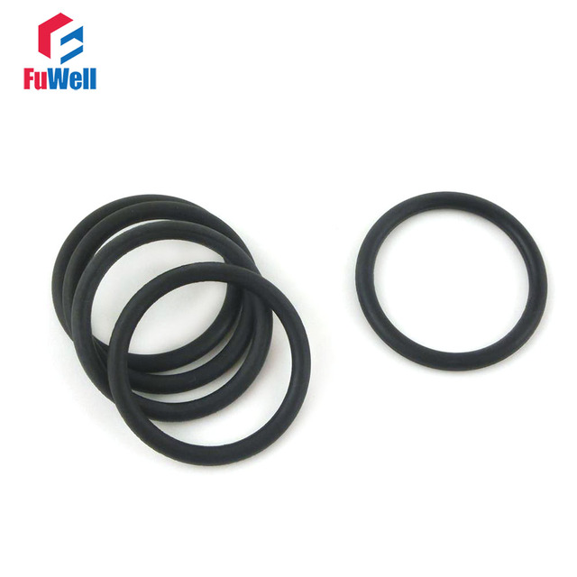 20pcs 3.5mm Thickness NBR O Ring Washer Seal 105/110/115/120/125/130 ...