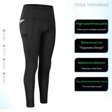 Pocket Solid Sport Yoga Pants High Waist Mesh Sport Leggings Fitness Women Yoga Leggings Training Running Pants Sportswear