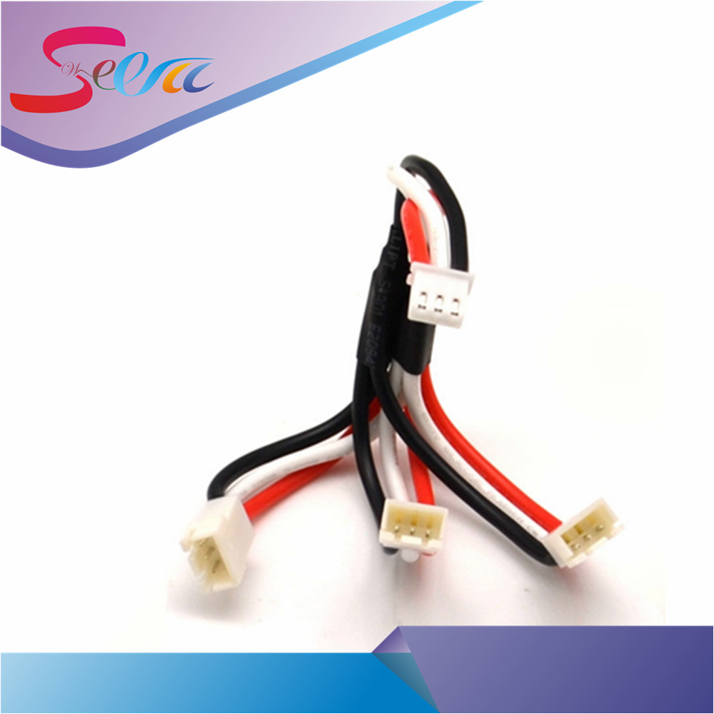 7.4 V 2S charge Cable for SYMA X8C W/G MJX X600 X101 WLtoys V666 RC Drone Li-po Battery Spare Parts