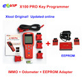 Quality A +Professiona Original l X100 X-100 X100PRO Auto Key Programmer IMMO+Odometer +EEPROM Updated Version Online  DHL Free
