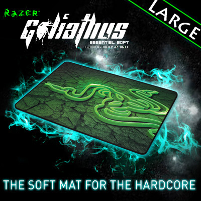 Razer Goliathus 2013 CONTROL Edition Gaming mousepad, large size 444*355*3 mm Orignal& Brand New in BOX, Free shipping