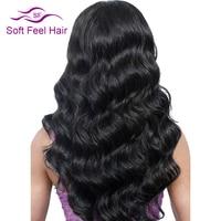 Soft Feel Hair Brazilian Body Wave Non Remy Hair 100 Human Hair Weaving Natural Color 6