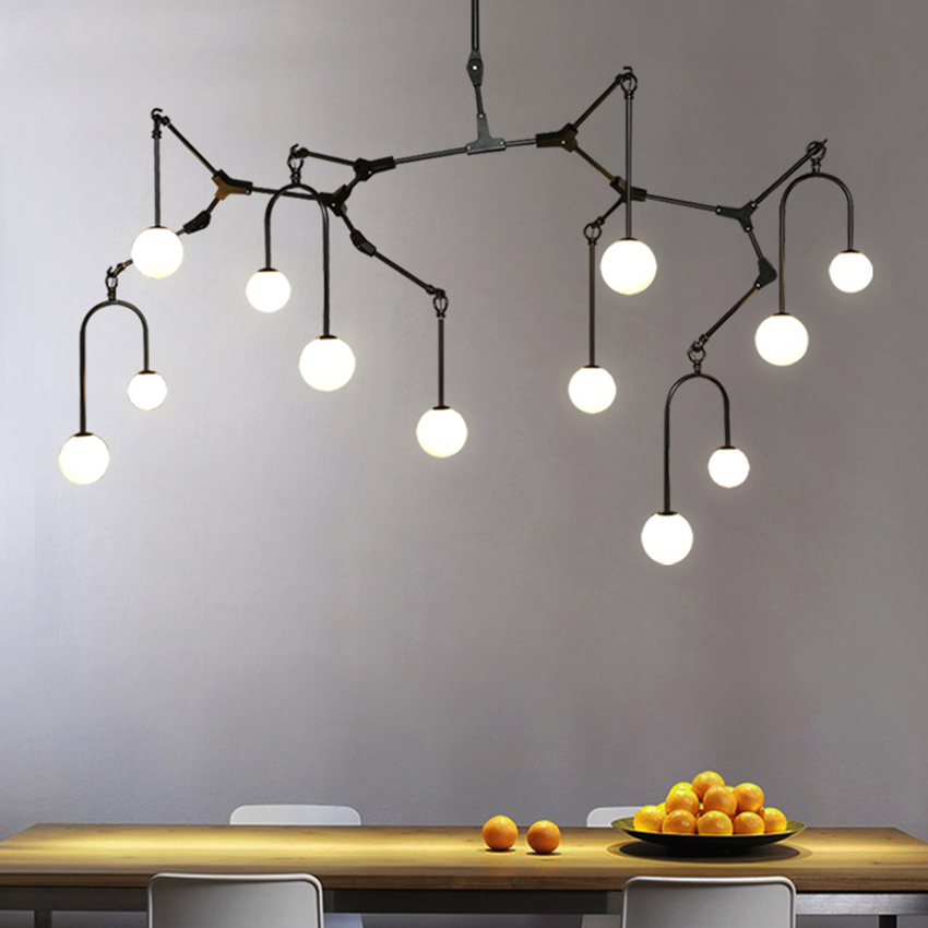 Nordic Loft Designer Branch Pendant Lights Modern Restaurant Table Living Room Luxury Hanging Lamp Suspension Lighting Luminaire