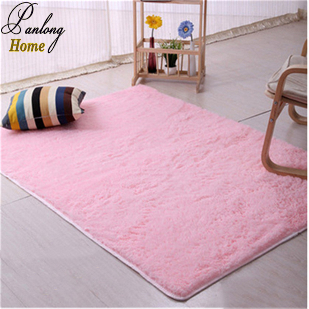 Multiple sizes large long haired plush soft carpet area for Soft carpet for bedrooms