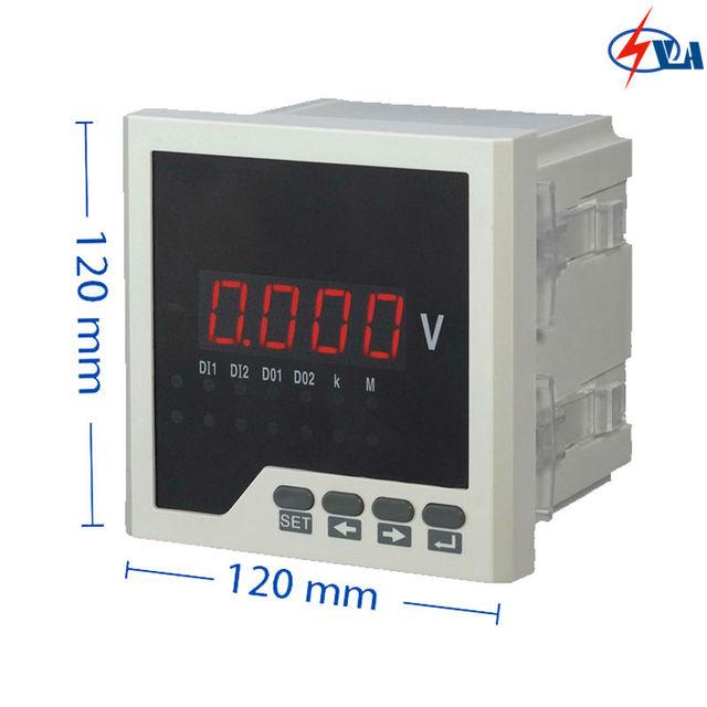 AV21 120*120 LED digital display single phase AC Voltage meter-in ...