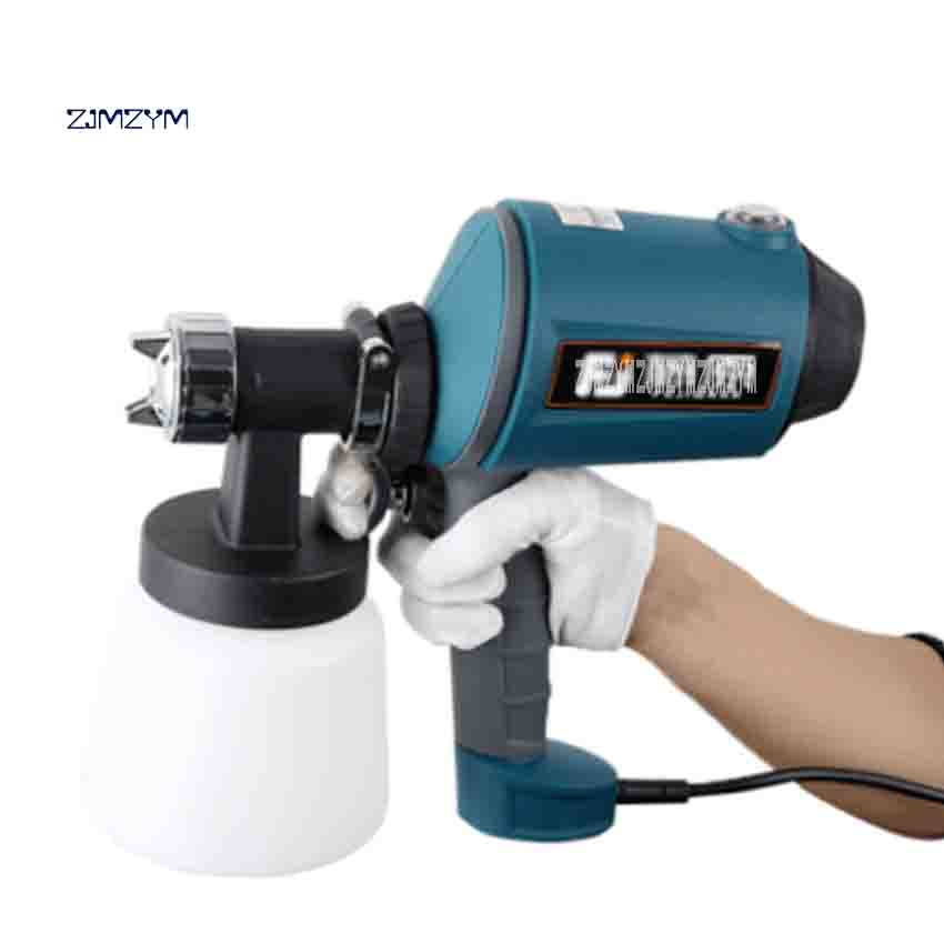FUJ-89 High-pressure Electric Airless Spray Gun High Atomization Paint Spraying Machine 220V 500W 900ml 0-550ml/min 0.1-0.2Bar sat0086 free shipping auarita airbrush paint guns professional paint sprayer high pressure air gun tank paint sprayer pneumatic