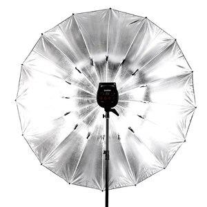 """Image 5 - Godox Studio Photogrphy 70 """"/178 cm argent noir éclairage réfléchissant lumière parapluie"""