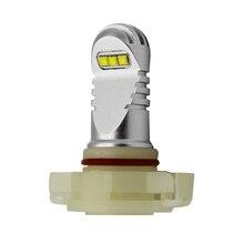 2 шт. 6000 К ксеноновые Белый светодиодный PSX24 PS19W H16 (ЕС) лампы для противотуманных фар или Габаритные огни Amber красные, синие зеленый